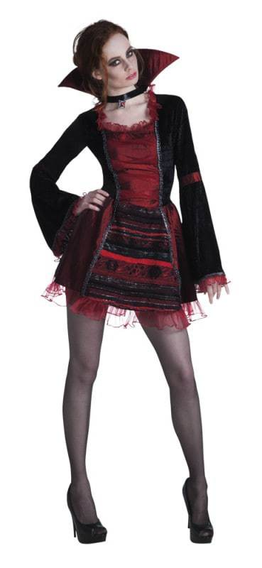 costume femme vampire ced. Black Bedroom Furniture Sets. Home Design Ideas