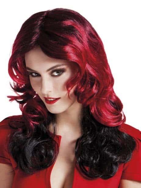 Perruque vampire femme