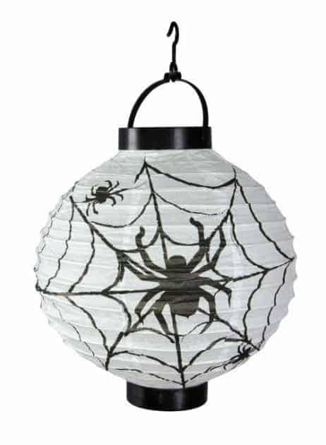 LAMPION - ARAIGNÉES (Lampion lumineux)