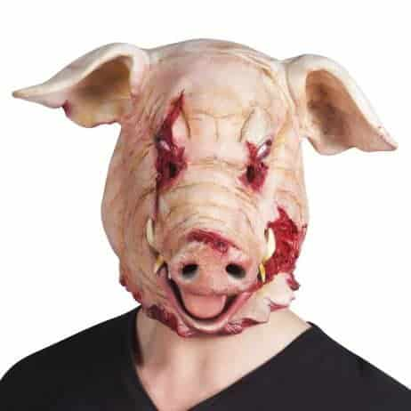 Masque cochon latex