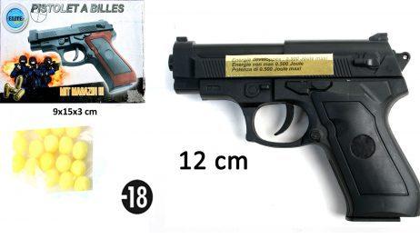 PISTOLET A BILLES (12 cm)