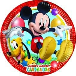 Assiettes cartons Mickey