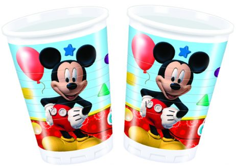 Verres jetables Mickey Mouse