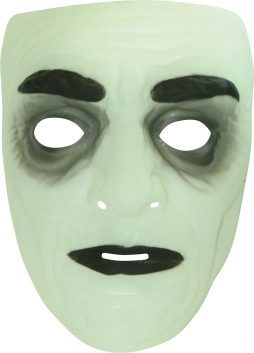 Masque phosphorescent halloween