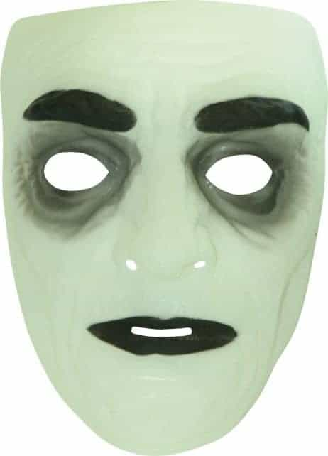 Masque phosphorescent halloween