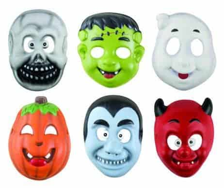 LOT MASQUES HALLOWEEN (Assortiment pour enfant)