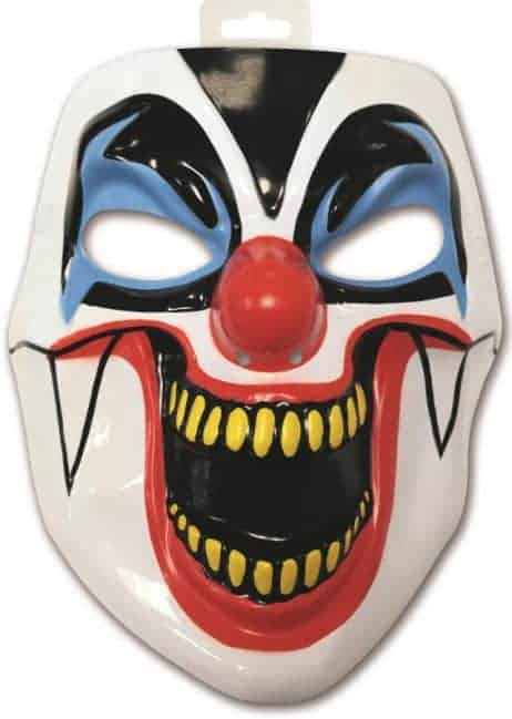 MASQUE CLOWN INFERNAL (Masque en PVC)