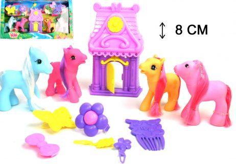 Petits poneys à coiffer