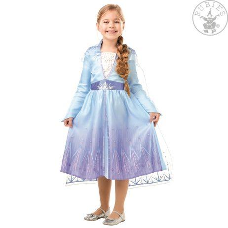 LA REINE DES NEIGES ELSA (Robe Frozen - 4 tailles) Déguisement pour enfant