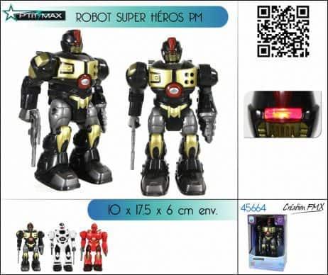 ROBOT SUPER HÉROS (Sonore et lumineux)