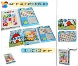 Livre interactif enfant