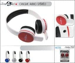 Casque stereo design