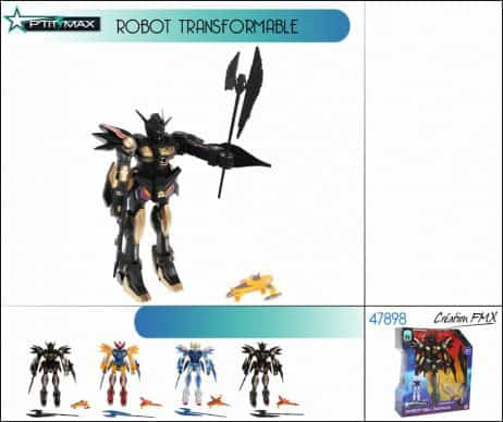 ROBOT TRANSFORMABLE (Robot de combat)