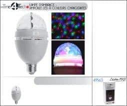 Lampe disco LED