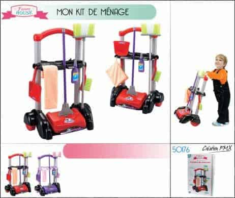 Kit de menage enfant