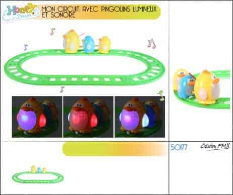 Jeu du circuit de pingouins
