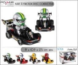 Kart friction