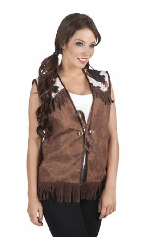 GILET COW GIRL FARMER (Veste sans manches L)