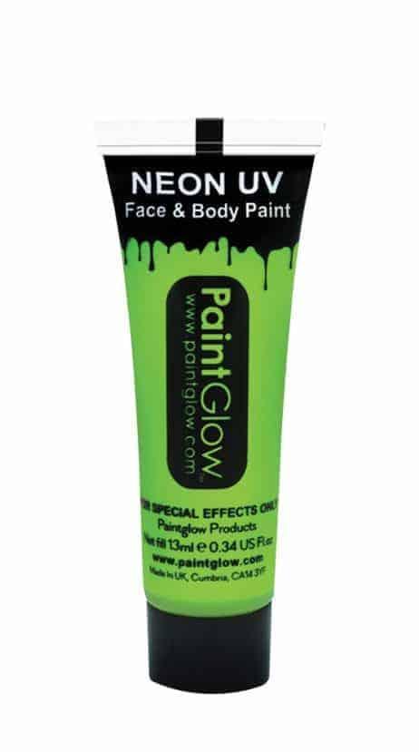 BODYPAINTING VERT (Maquillage Fluo UV - 13 ml)
