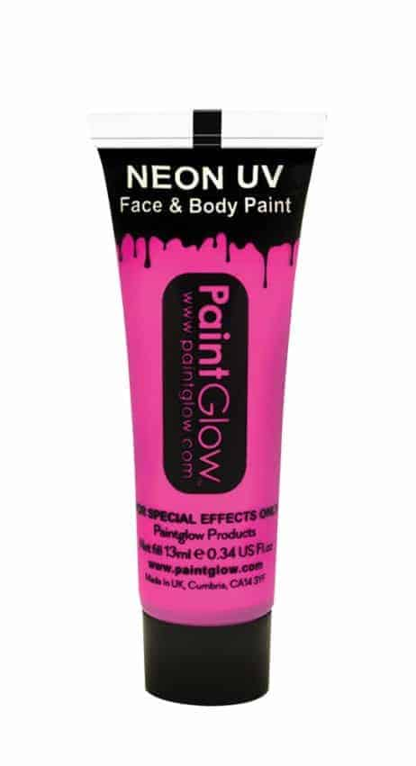BODYPAINTING ROSE (Maquillage Fluo UV - 13 ml)