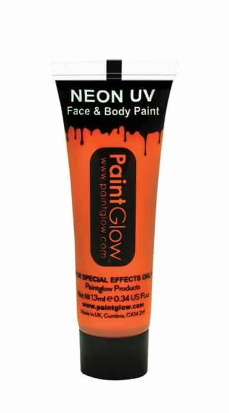 BODYPAINTING ORANGE (Maquillage Fluo UV - 13 ml)