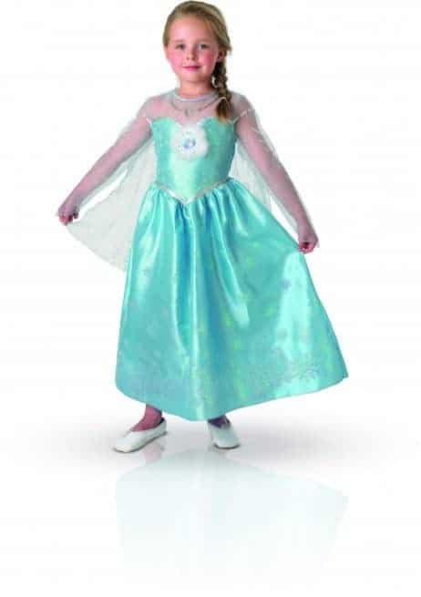 LA REINE DES NEIGES ELSA (Robe Frozen - 3 tailles) Déguisement pour enfant