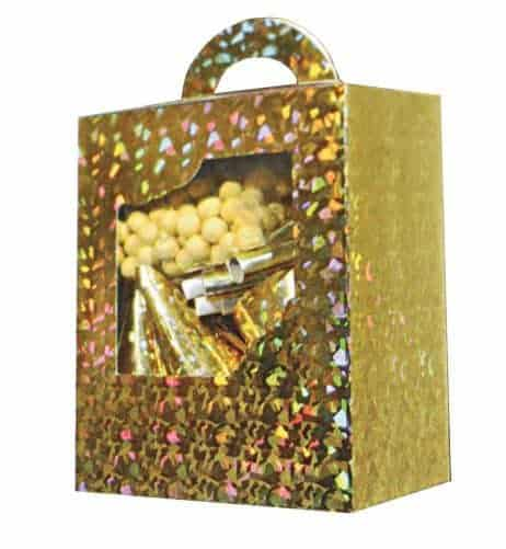 BOITE COTILLONS GOLD (Pack 10 personnes)