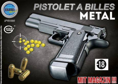 Pistolet metal a billes