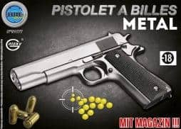 Pistolet metal a billes