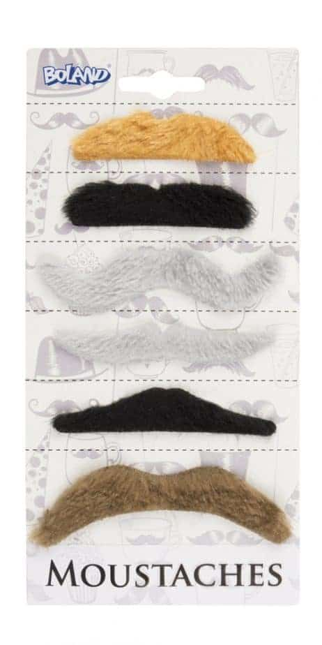 Kit moustaches naturelles