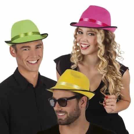 Chapeau gangster fashion