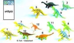 Lot de 48 dinosaures