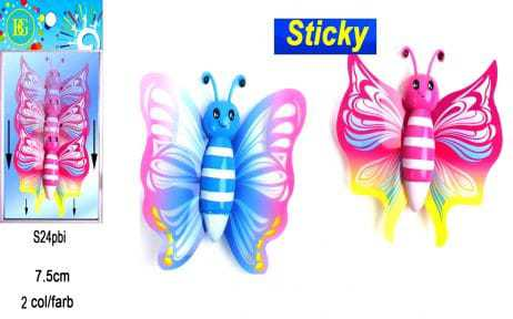 Sticky papillon gluants