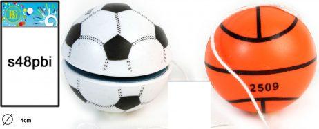 YOYO ballons foot basket