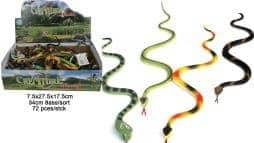 Lot de 72 serpents pvc