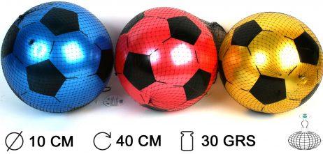 BALLONS FOOT A GONFLER (Diamètre 10 cm - 3 coloris)
