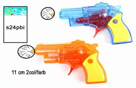 PISTOLET A ÉTINCELLES (Taille 11 cm - 2 Coloris)