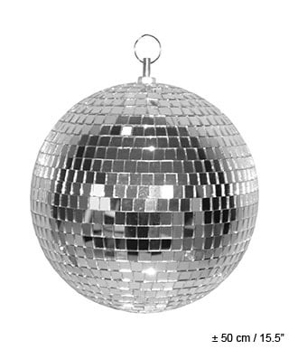 BOULE A FACETTES 50 CM (Boule Disco Party)