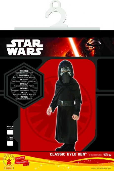 Costume Kylo Ren Star wars