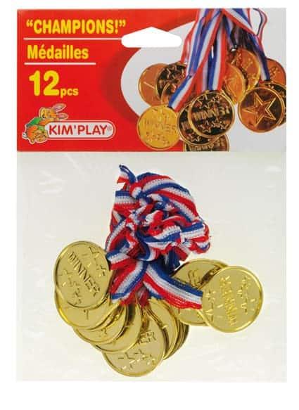 Médailles champion
