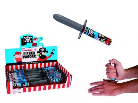 Couteau pirate retractable