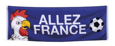 Banderole allez la France