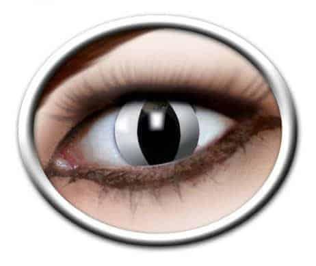 Lentilles yeux noirs