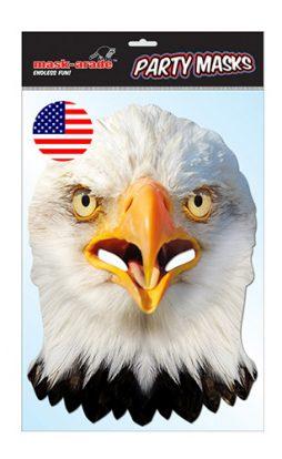 Masque aigle en carton