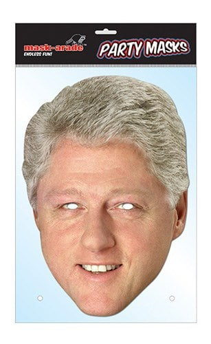Masque en carton Bill Clinton