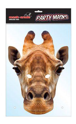 Masque ne carton Girafe