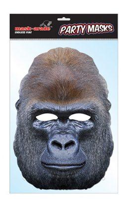Masque gorille carton