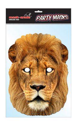 Masque lion carton