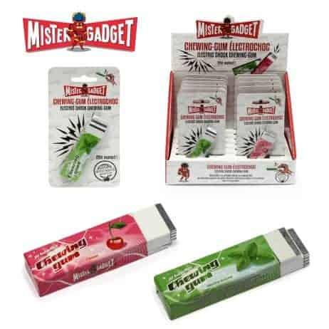 Chewing gum trucqués
