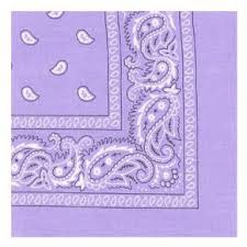 Bandana violet